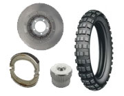 Brakes / Wheels / Tires BMW R100 GS (91-95)