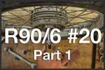 R90/6 #20 Part 1 Brakes & Front Wheel BMW R90/6 Airhead 2 Valve Tutorials