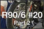 R90/6 #20 Part 2 Brakes & Front Wheel Assembly BMW R90/6 Airhead 2 Valve Tutorials
