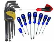 Screw and Hex Drivers Tools