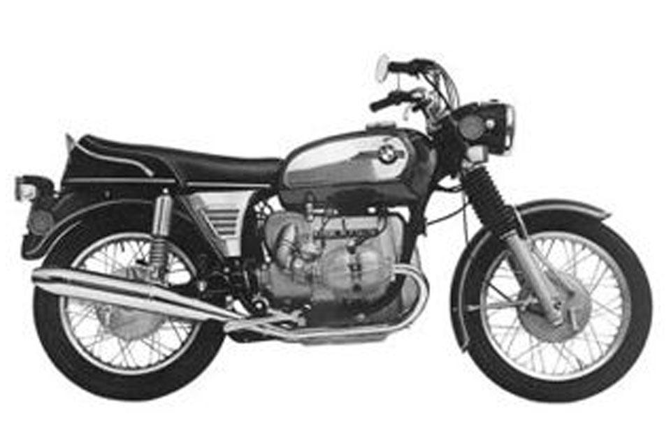 BMW R75/5 1970 - 1976