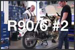 R90/6 #2 In the shop, making a plan. BMW R90/6 Airhead 2 Valve Tutorials