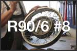 R90/6 #8 Rear Wheel bearings & driveshaft bolts tutorial. BMW R90/6 Airhead 2 Valve Tutorials